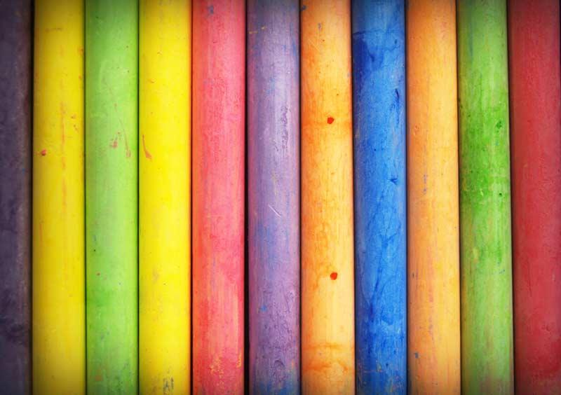 Uporabljajte različne barve