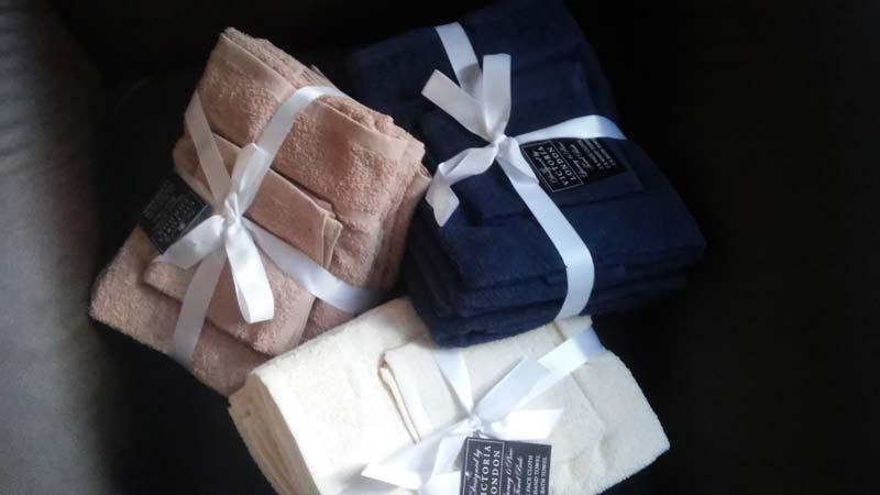 Paket brisač z okrasno pentljo